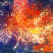 Картины и панно handmade. Livemaster - original item Painting with pastels - deep in space. Handmade.