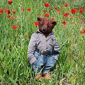 """Куклы и игрушки ручной работы. Ярмарка Мастеров - ручная работа Медведь """"Михалыч"""". Handmade."""