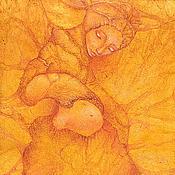 Картины и панно ручной работы. Ярмарка Мастеров - ручная работа Золотой плод. Картина фэнтези. Дриада.. Handmade.