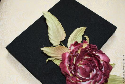 Материалы для флористики ручной работы. Ярмарка Мастеров - ручная работа. Купить Подушка для буления полумягкая(средняя). Handmade. Черный, цветоделие, каучук