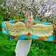 Batik stole ' Heavenly Bird'. Wraps. OlgaPastukhovaArt. Online shopping on My Livemaster.  Фото №2