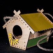 Bird feeders handmade. Livemaster - original item A bird feeder from a tree