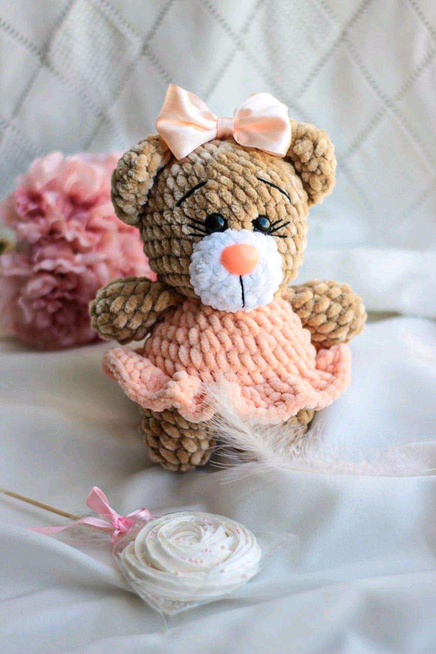 Медвежонок, Мягкие игрушки, Москва,  Фото №1