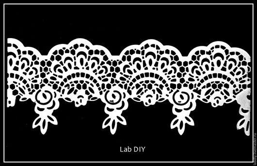 Другие виды рукоделия ручной работы. Ярмарка Мастеров - ручная работа. Купить Арт К0002. Handmade. Белый, фурнитура, Скрапбукинг