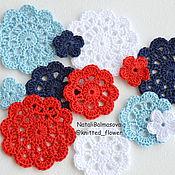 Материалы для творчества handmade. Livemaster - original item Set of Nautical knit items for decoration. Handmade.