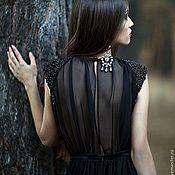 """Одежда ручной работы. Ярмарка Мастеров - ручная работа Платье """"Noir-Baby"""". Handmade."""