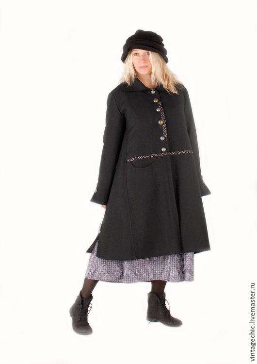 Верхняя одежда ручной работы. Ярмарка Мастеров - ручная работа. Купить Пальто в стиле бохо art.102a. Handmade. Винтаж