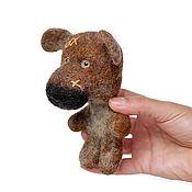 Мишки Тедди ручной работы. Ярмарка Мастеров - ручная работа Медведь, валяная игрушка, тедди. Teddy bear.. Handmade.