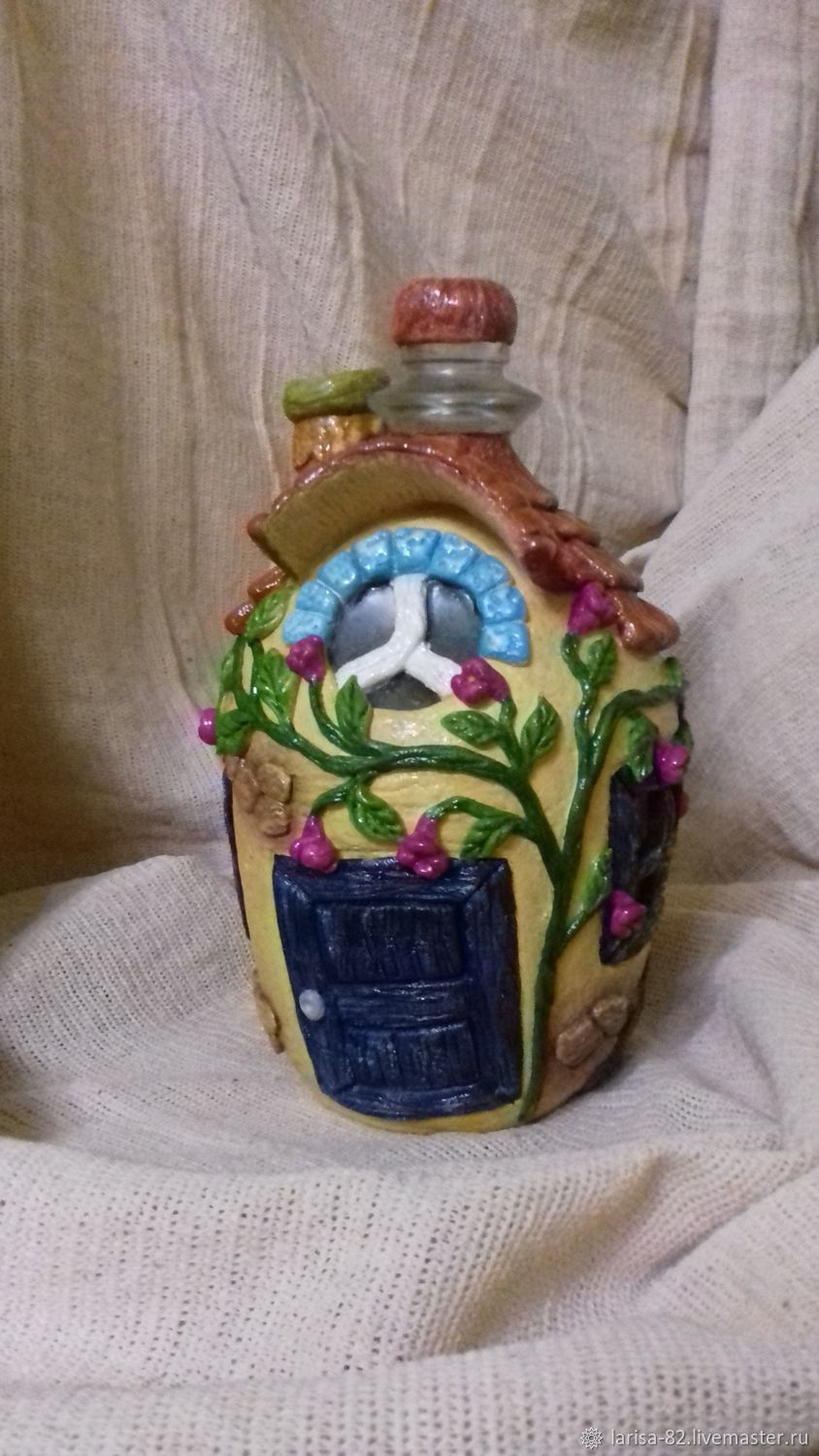 The design of the bottles: Recycling: ' My little world', Bottle design, Vyborg,  Фото №1