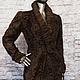 Верхняя одежда ручной работы. Заказать Пальто из каракуля swakara сур. Elena. Ярмарка Мастеров. Зима осень, женское пальто