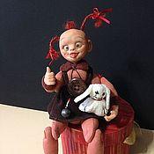 """Куклы и игрушки ручной работы. Ярмарка Мастеров - ручная работа Девочка-домовенок """"Рыжик"""". Handmade."""