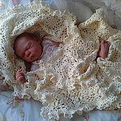 Для дома и интерьера ручной работы. Ярмарка Мастеров - ручная работа Плед для новорожденного. Handmade.