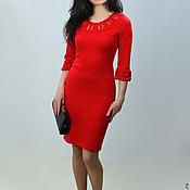 Одежда ручной работы. Ярмарка Мастеров - ручная работа Платье вязаное 4471. Handmade.