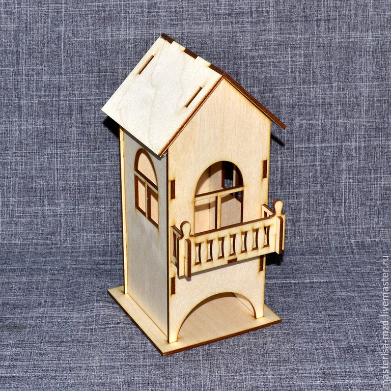 Фото проекта домика для дачи из пеноблоков