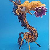 Куклы и игрушки ручной работы. Ярмарка Мастеров - ручная работа Жираф по  имени Маруся. Handmade.