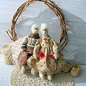 Куклы и игрушки ручной работы. Ярмарка Мастеров - ручная работа Семейная пара Дед и Бабушка. Handmade.
