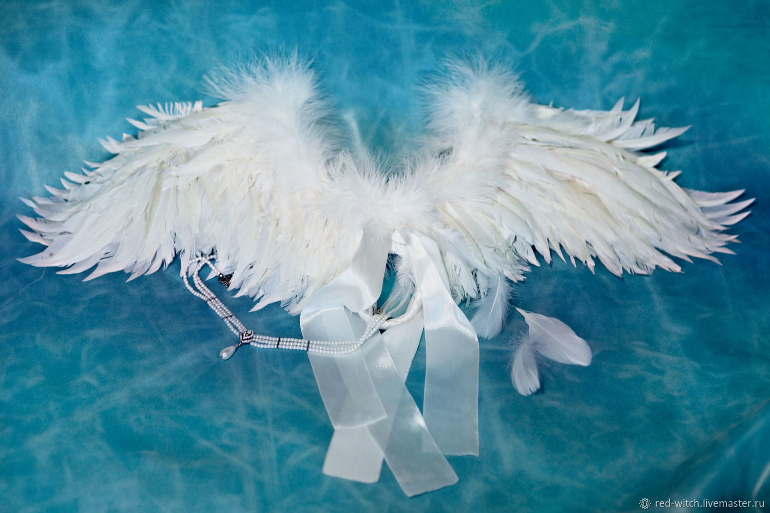 Angel Wings. White – shop online on Livemaster with shipping ...