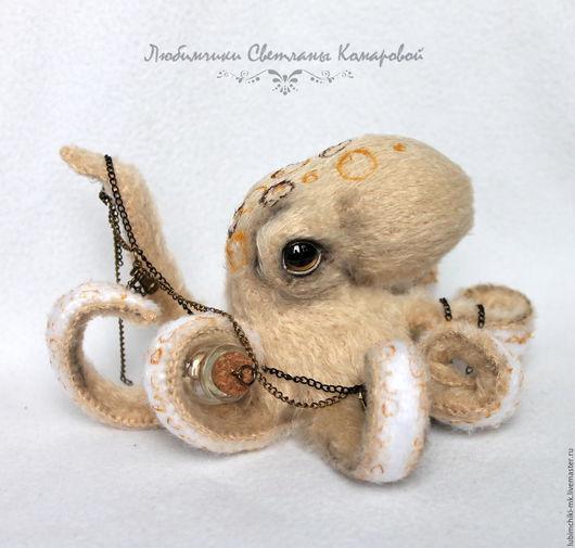Вязание ручной работы. Ярмарка Мастеров - ручная работа. Купить Остин осьминог. Handmade. Комбинированный, осьминог