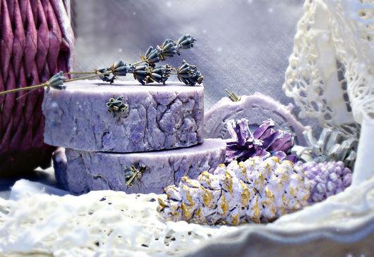 """Мыло ручной работы. Ярмарка Мастеров - ручная работа. Купить мыло с нуля """" Лавандовый мёд"""". Handmade. Лавандовое мыло"""