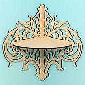 Для дома и интерьера handmade. Livemaster - original item Corner shelf. Handmade.