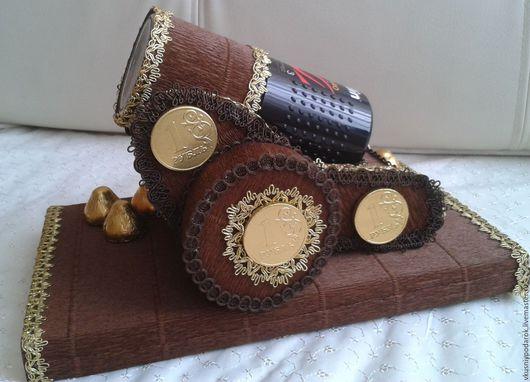 Кулинарные сувениры ручной работы. Ярмарка Мастеров - ручная работа. Купить Пушка из кофе и конфет Подарок для мужчин Подарок на 23 февраля. Handmade.
