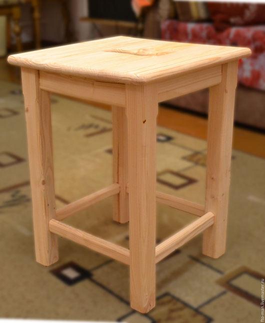 Мебель ручной работы. Ярмарка Мастеров - ручная работа. Купить Табуреты из сосны. Handmade. Бежевый
