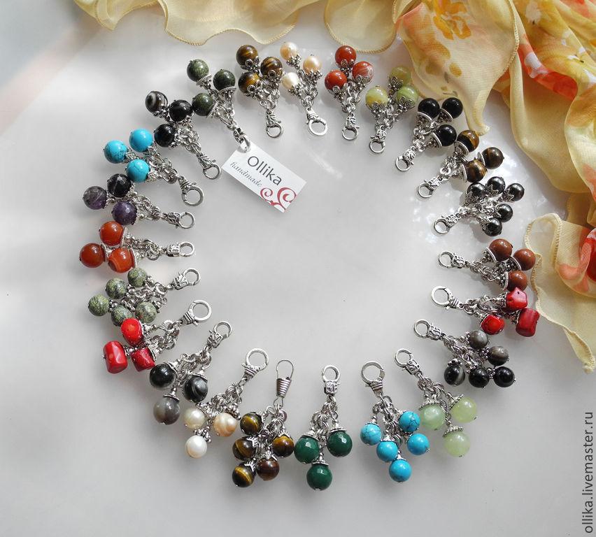 Фото Брелок Камень Вашего Зодиака украшение для ключей, украшение на сумку, украшение для сумки  брелок для сумки, оригинальный подарок, подарок на день рождения, брелок с кораллами, брелок с агатами