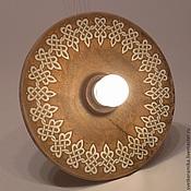 Для дома и интерьера handmade. Livemaster - original item Ceramic lamp on a rigid suspension.. Handmade.