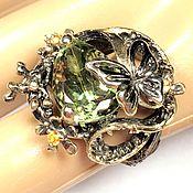 """Кольца ручной работы. Ярмарка Мастеров - ручная работа Авторская работа кольцо """"Венеция"""" Аметист, серебро 925. Handmade."""