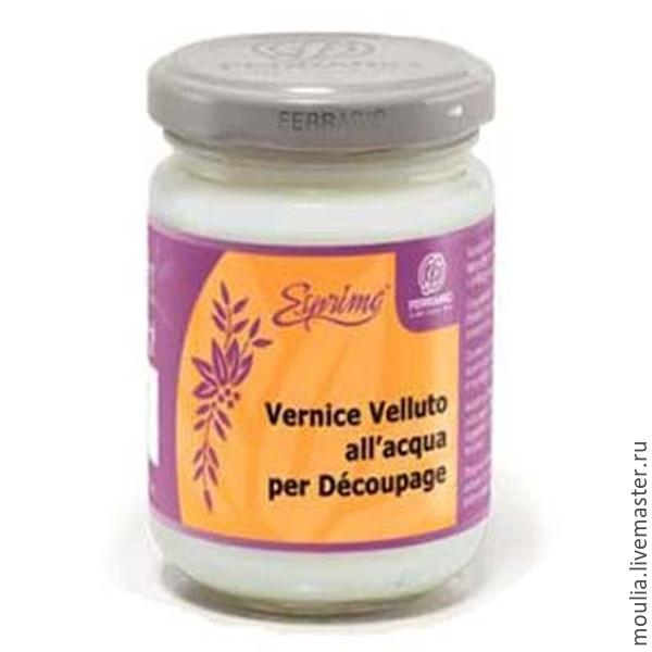 Лак велюровый Vernice Velluto FERRARIO, водный, 150мл арт 183700   12/0