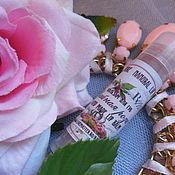 Косметика ручной работы. Ярмарка Мастеров - ручная работа ЧАЙНАЯ РОЗА питательный и защитный бальзам для губ с воском розы и мас. Handmade.
