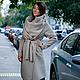 Верхняя одежда ручной работы. Заказать Пальто-трансформер (beige). German Kuch. Ярмарка Мастеров. Пальто, Пальто ручной работы