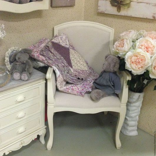 """Мебель ручной работы. Ярмарка Мастеров - ручная работа. Купить Кресло """"Прованс"""". Handmade. Прованс, Декор, винтаж, фото, Мебель"""