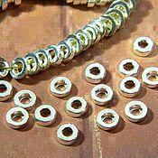Материалы для творчества handmade. Livemaster - original item Spacer separator for beads 6h2h2.5.  mm. PCs. Handmade.