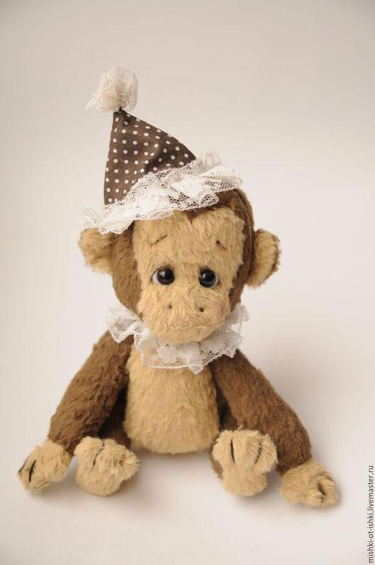 Мишки Тедди ручной работы. Ярмарка Мастеров - ручная работа. Купить Обезьян Мио. Handmade. Коричневый, обезьянка в подарок