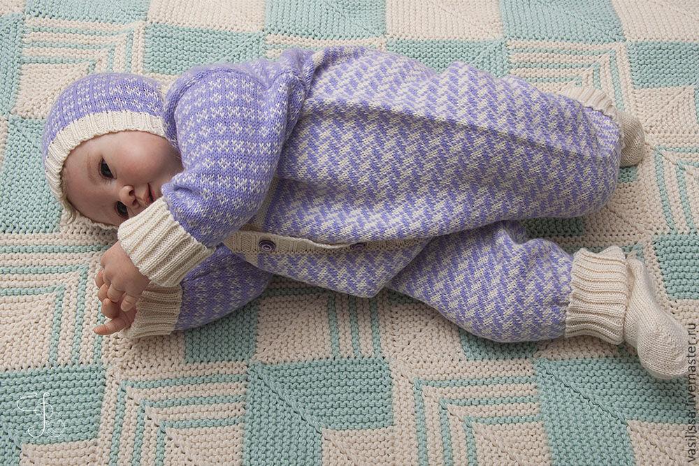 Ярмарка мастеров вязать для новорождённого