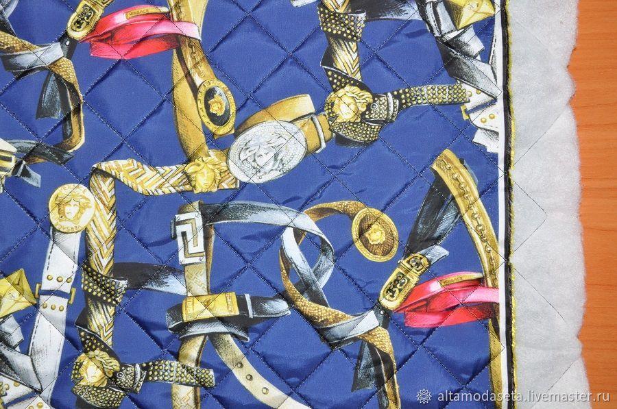 Ткань курточная Versace из Италии, Ткани, Москва,  Фото №1