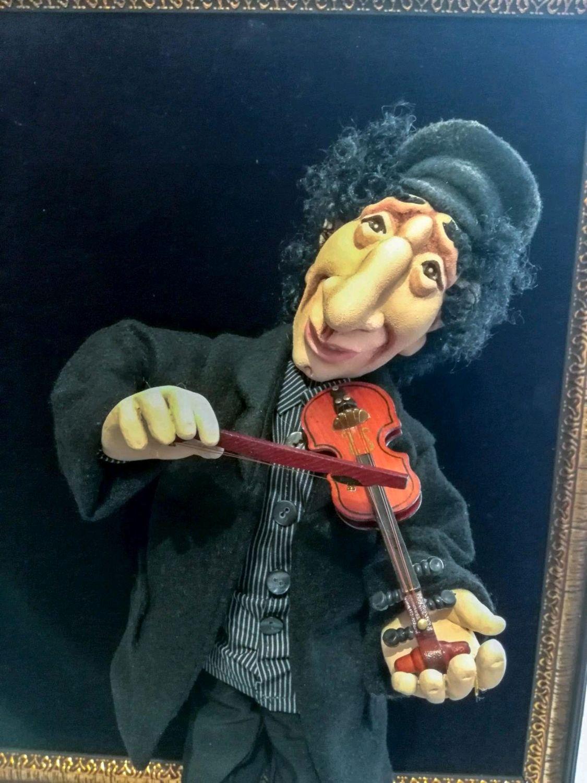 Авторская кукла. Национальный колорит. Еврей со скрипкой, Народная кукла, Биробиджан,  Фото №1