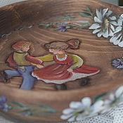 """Для дома и интерьера ручной работы. Ярмарка Мастеров - ручная работа Тарелка """"Танец"""". Handmade."""