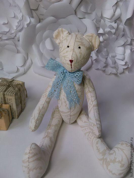 Куклы Тильды ручной работы. Ярмарка Мастеров - ручная работа. Купить Мишка Тильды. Handmade. Бежевый, подарок на день рождение