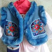 Одежда ручной работы. Ярмарка Мастеров - ручная работа детская душегрея. Handmade.
