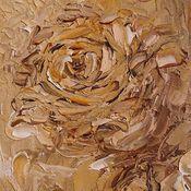 Картины ручной работы. Ярмарка Мастеров - ручная работа Картина. Розы. Сепия. Масло, холст на картоне, 18х24, мастихин.. Handmade.