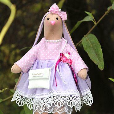 Куклы и игрушки ручной работы. Ярмарка Мастеров - ручная работа Милая зайка. Handmade.