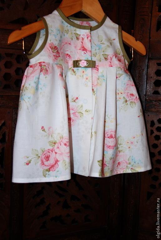 Одежда для девочек, ручной работы. Ярмарка Мастеров - ручная работа. Купить Платье для девочки. Новорожденной.. Handmade. Платье для девочки, младенец