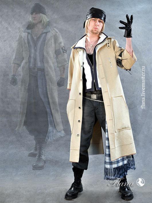Косплей костюма из игры Final Fantasy XIII -  Сноу Вильерса (Snow Villers), индивидуальный пошив, Флана