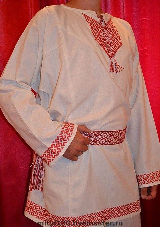 Одежда ручной работы. Ярмарка Мастеров - ручная работа. Купить Рубаха Росич. Handmade. Вышиванка, крестиком