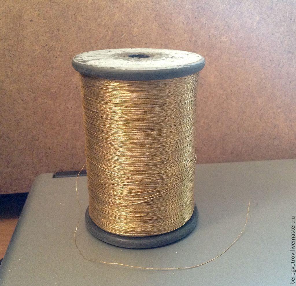 Денисовские нитки для золотного шитья