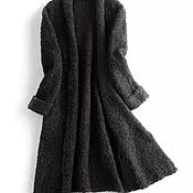 Одежда ручной работы. Ярмарка Мастеров - ручная работа Кардиган-букле меринос шерсть. Handmade.