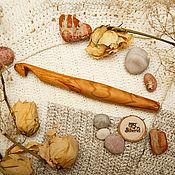 handmade. Livemaster - original item Wooden crochet Hook 17#62. Handmade.