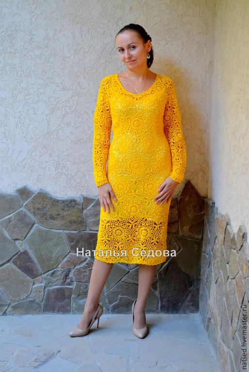 Платье мотивами цветы